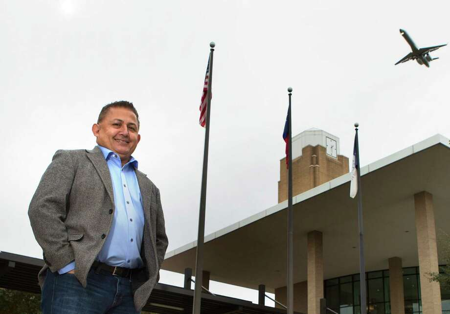 Art Murillo credits his  election Tuesday to the nine-member Lone Star College board of trustees to running in a newly drawn majority-Latino district. Photo: Cody Duty, Staff / © 2014 Houston Chronicle