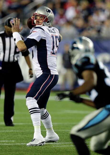 Ryan Mallett has thrown four career NFL passes, all with the Patriots, completing one and having one intercepted. Photo: Charles Krupa, STF / AP