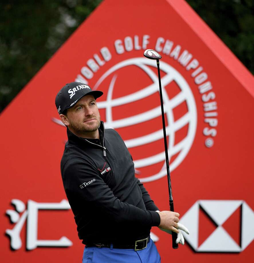 SHANGHAI, CHINA - NOVEMBER 08:  Graeme McDowell of Northern Ireland on the 3rd tee during the third round of the WGC - HSBC Champions at the Sheshan Internationl Golf Club on November 8, 2014 in Shanghai, China.  (Photo by Ross Kinnaird/Getty Images) ORG XMIT: 517279189 Photo: Ross Kinnaird / 2014 Getty Images