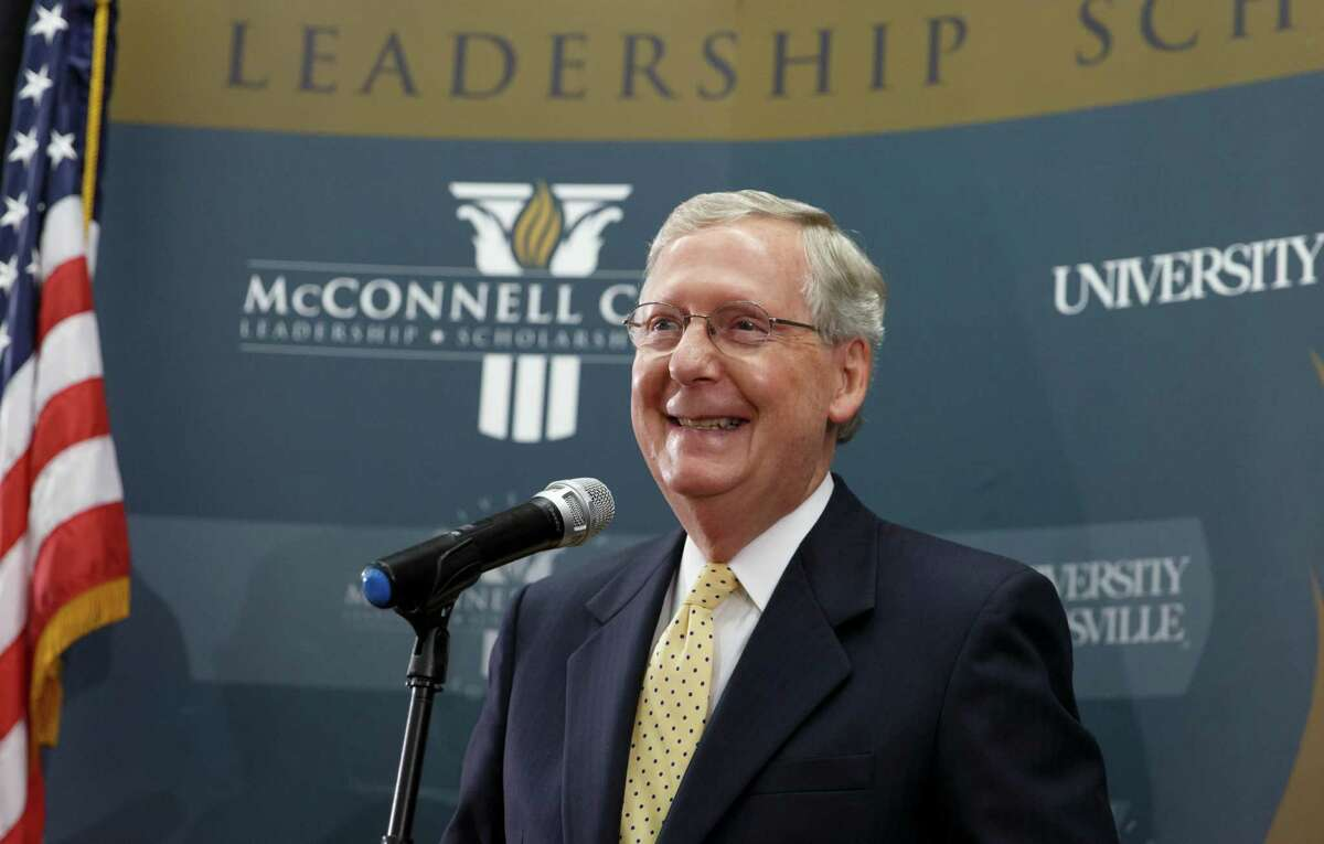 Senate Majority Leader Mitch McConnell of Kentucky: Working with the Trump White House, he oversaw impeachment trial in which Republicans refused to hear witnesses or accept new evidence.