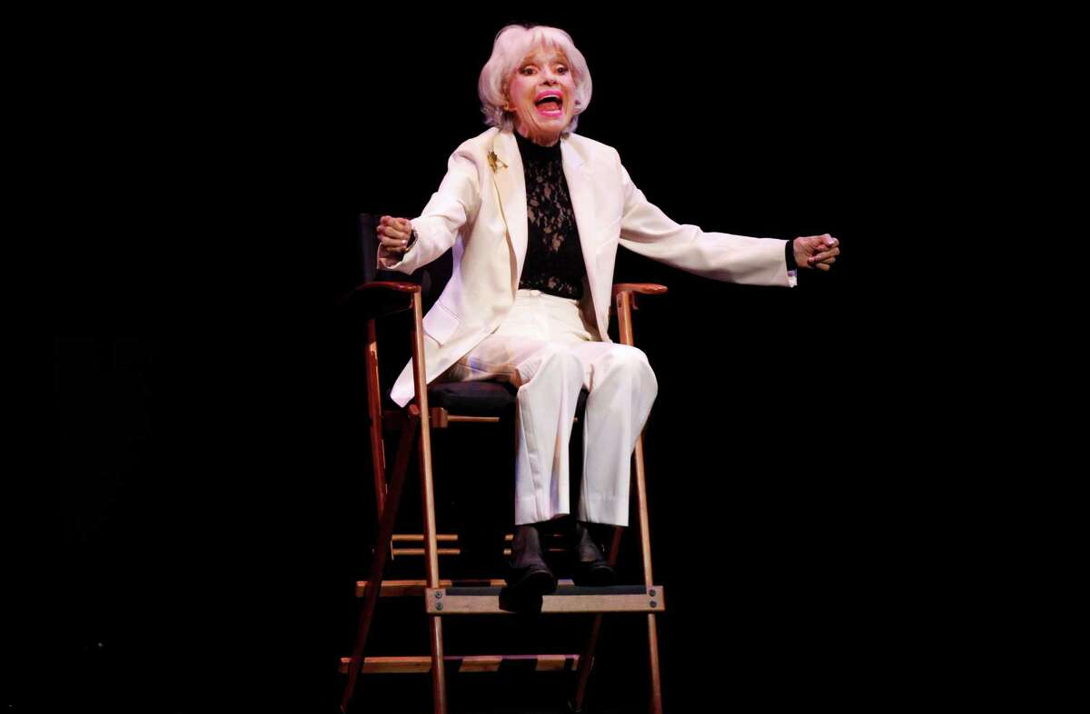 Carol Channing says she used to sell copies of the Christian Science Monitor to the cast and crew at the Curran Theatre.
