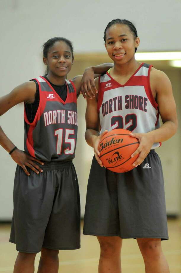 Sophomore Chasity Patterson, left, was North Shore's leading scorer last season, and senior Kayla Mack is part of the team's experienced core. Photo: Jerry Baker, Freelance