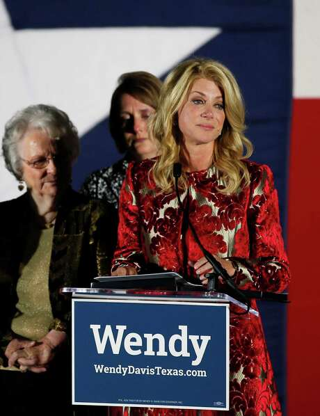 "Texas Democratic gubernatorial candidate Wendy Davis said that in spite of losing the race, she and her supporters and volunteers ""did something amazing and we started something profound."" Photo: Tony Gutierrez, STF / AP"