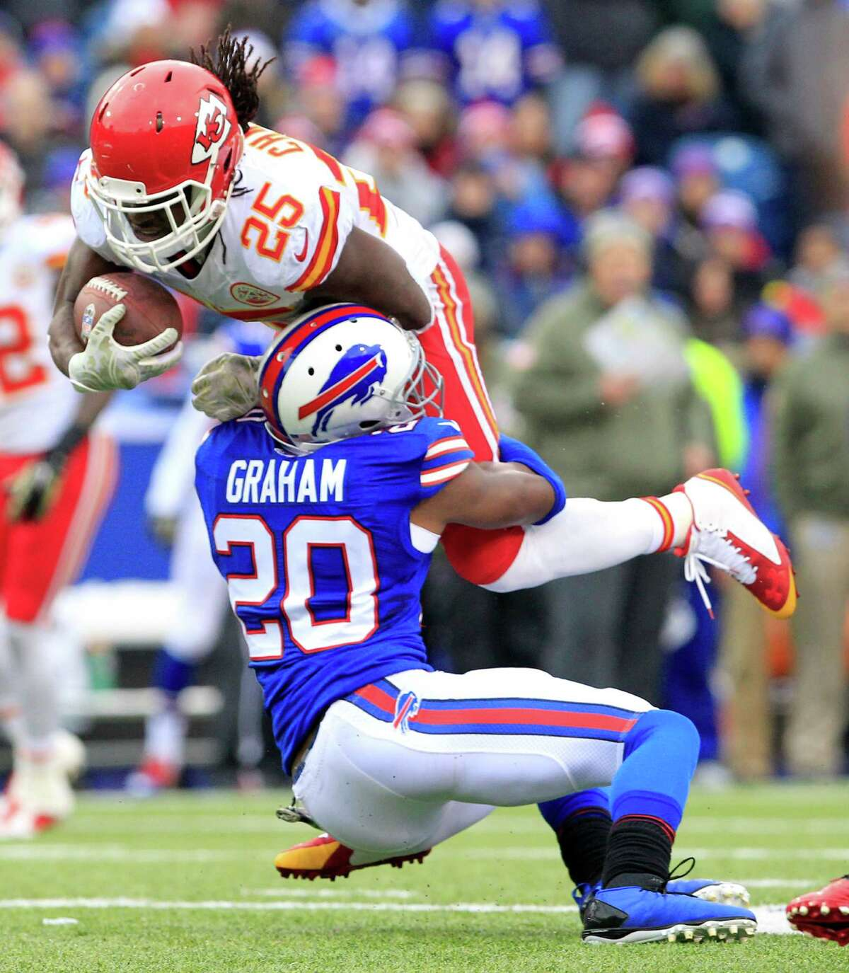 The Kansas City Chiefs at Buffalo Bills game scheduled for Thursday, Oct. 15, 2020, in Orchard Park will now be played at 5 p.m. Monday, Oct. 19. (AP Photo/Bill Wippert)