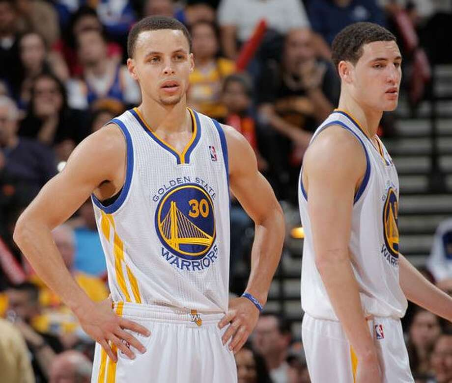 Warriors stars Steph Curry and Klay Thompson put their NBA best record on the line against the Spurs on Monday, Jan. 25, in what will be one of the biggest games of the season so far. Photo: Dan McCarney
