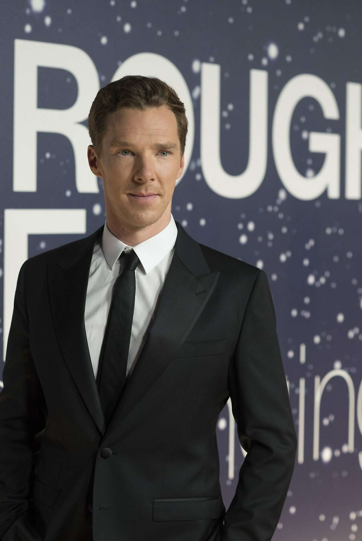 Benedict Cumberbatch arrives at the 2nd Annual Breakthrough Prize Award Ceremony at the NASA Ames Research Center on Sunday, Nov. 9, 2014 in Mountain View, California.