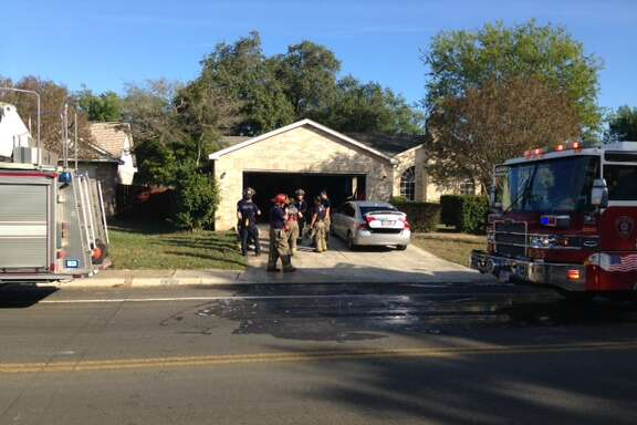 A family was forced from their Northwest Side home Monday morning after a fire erupted in their kitchen.
