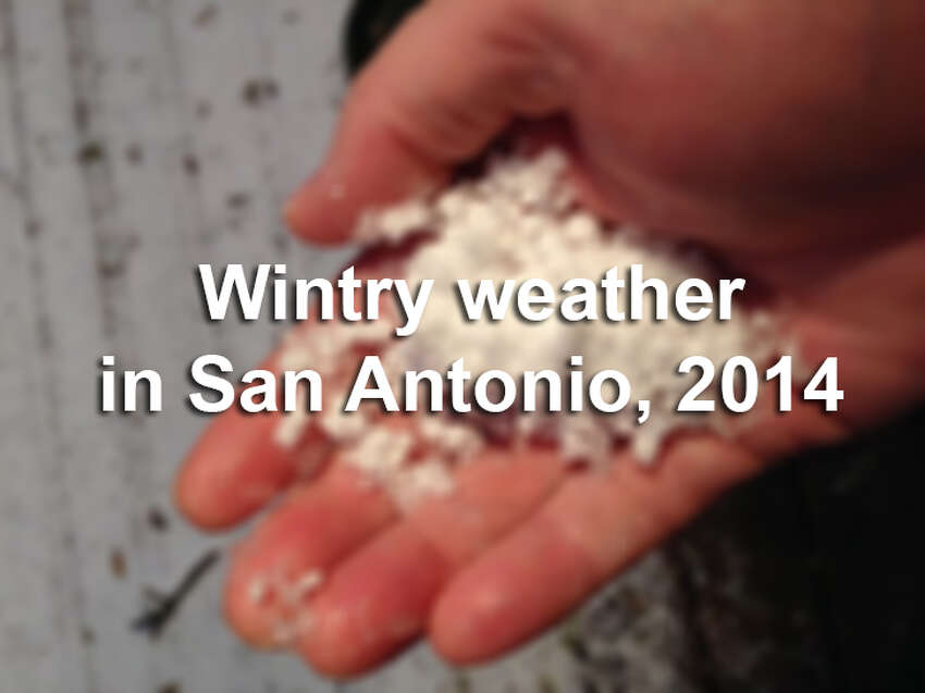 Click through the slideshow for more photos from San Antonio's wintry weather in January and February 2014.