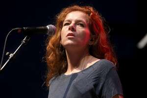 Neko Case of The New Pornographers performs during day 2 of FunFunFun Fest at Auditorium Shores on November 8, 2014 in Austin, Texas.