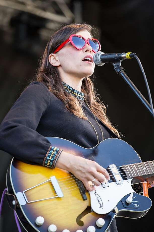 Musician/vocalist Dana Falconberry performs on stage during Day 1 of Fun Fun Fun Fest at Auditorium Shores on November 7, 2014 in Austin, Texas. Photo: Rick Kern/WireImage/Getty Images, WireImage