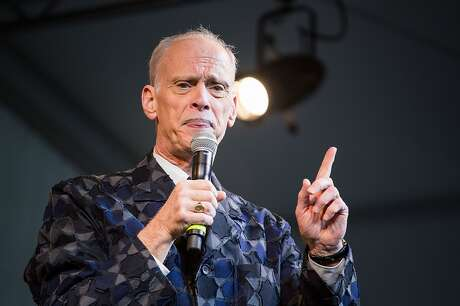 Comedian John Waters performs on stage during Day 1 of Fun Fun Fun Fest at Auditorium Shores on November 7, 2014 in Austin, Texas.