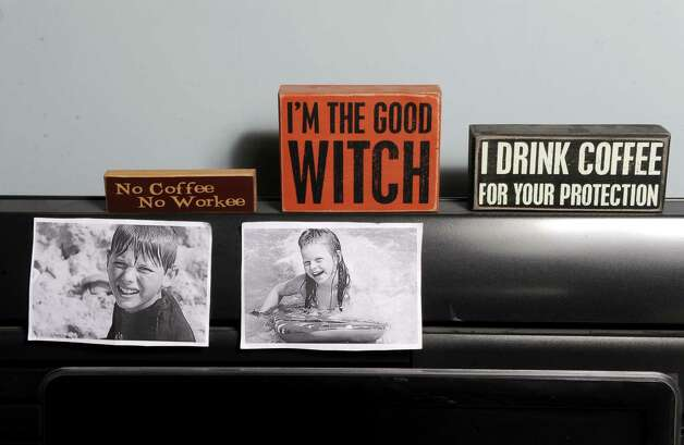 Things on YNN's Julie Chapman's desk on Thursday Nov. 6, 2014 in Albany, N.Y. (Michael P. Farrell/Times Union) Photo: Michael P. Farrell / 00029323A