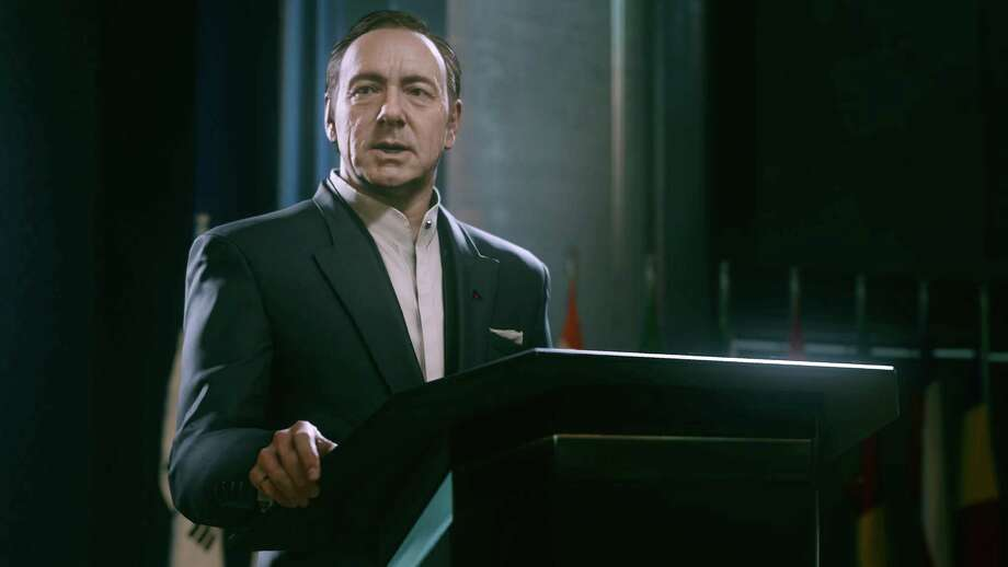 """With Kevin Spacey's video game debut inCall of Duty: Advanced Warfare, released last week, we were reminded of the other stars of big and small screens who have made waves in the gaming world. Click through to see the ones that jumped out at us.NY Times reports:The new Call of Duty, developed by Sledgehammer Games, published by Activision and set for release on Tuesday, stars Mr. Spacey as Jonathan Irons, the villainous chief executive of a private military contractor that amasses a force so large and powerful that the United Nations grants it a seat on the Security Council.Hard as it may be to believe, it will be the first video game he has ever played. """"I cannot say that any more bluntly,"""" Mr. Spacey said in an interview last month at the Park Hyatt hotel in Midtown Manhattan, where he was to speak at a philanthropic gala. """"I have never played a game in my life.""""This photo courtesy of Activision shows Kevin Spacey in a scene from the video game, """"Call of Duty: Advanced Warfare."""" (AP Photo/Activision) Photo: Getty Images / Activision"""