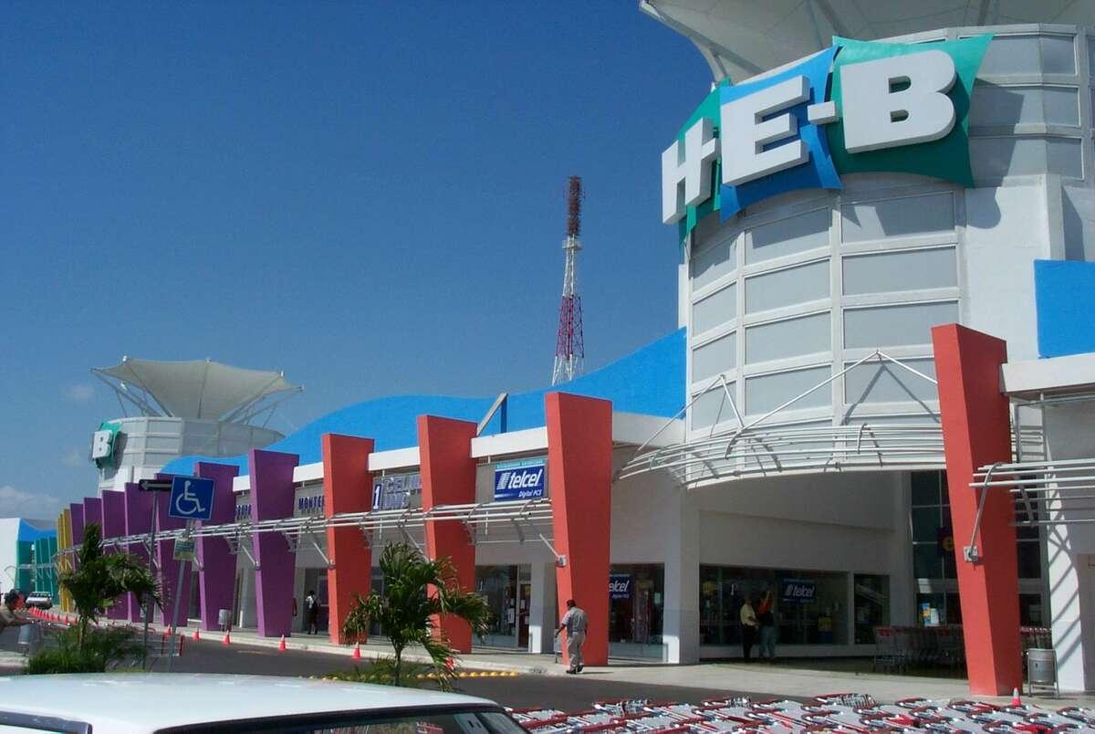 Tampico: H-E-B store in Mexico.