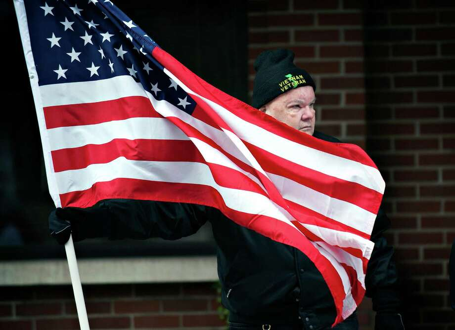 Our veterans of all generations have earned our eternal gratitude and support — in actions as well as words. Photo: Miranda Pederson / Miranda Pederson / Associated Press / Daily News