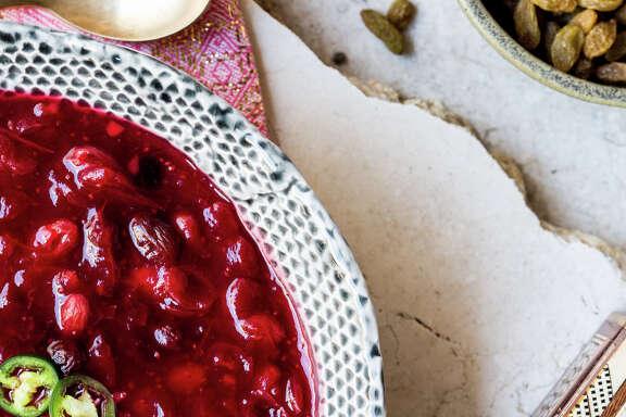 Cranberry Sambal Chutney