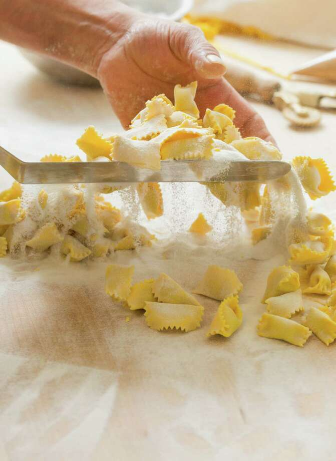 Hand making Agnolotti dal plin at Perbacco in San Francisco. Photo: Jason Henry / Special To The Chronicle / ONLINE_YES