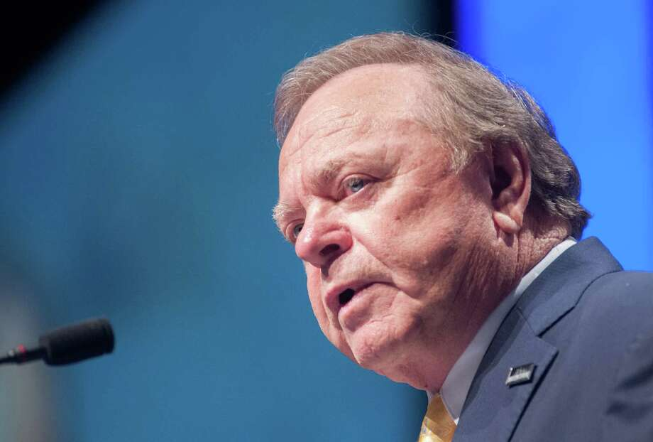 Continental Resources CEO Harold Hamm says the company's revised 2015 budget aligns with lower oil prices.  (AP Photo/Kevin Cederstrom) Photo: Kevin Cederstrom, FRE / FR170600 AP