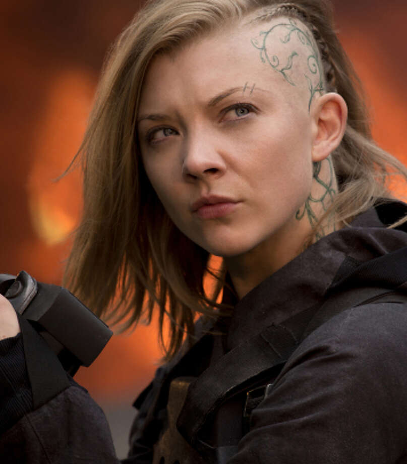 "Natalie Dormer stars as eagle-eyed film director Cressida in ""The Hunger Games: Mockingjay Part 1."" Photo: Murray Close / Lionsgate / ONLINE_YES"