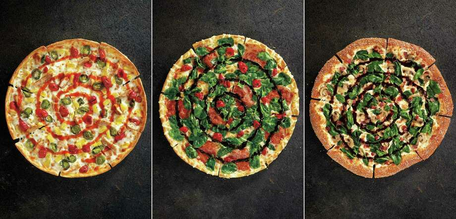 Sweet Sriracha Dynamite, Cherry Pepper Bombshell and Pretzel Piggy are new.  Photo: Uncredited, HONS / Pizza Hut