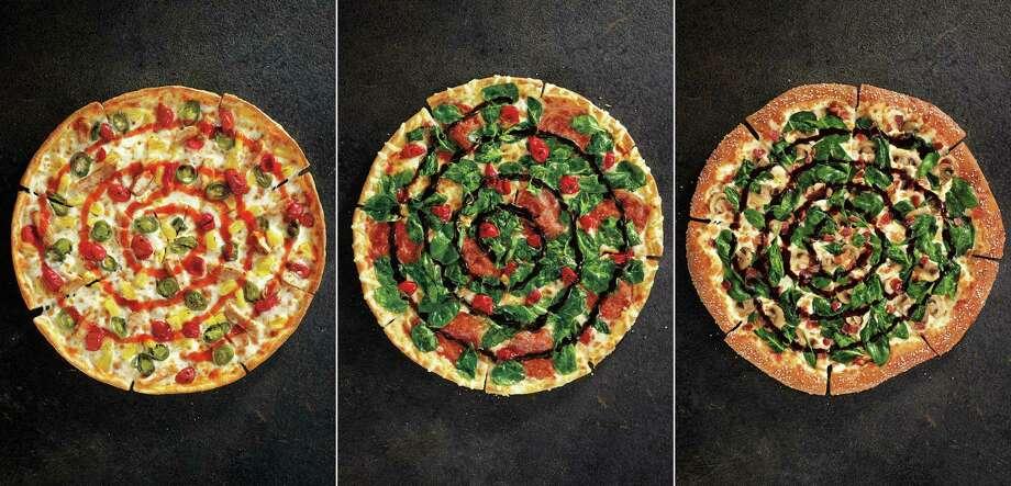 Sweet Sriracha Dynamite, Cherry Pepper Bombshell and Pretzel Piggy are new.  Photo: Uncredited, HONS / Pizza Hut