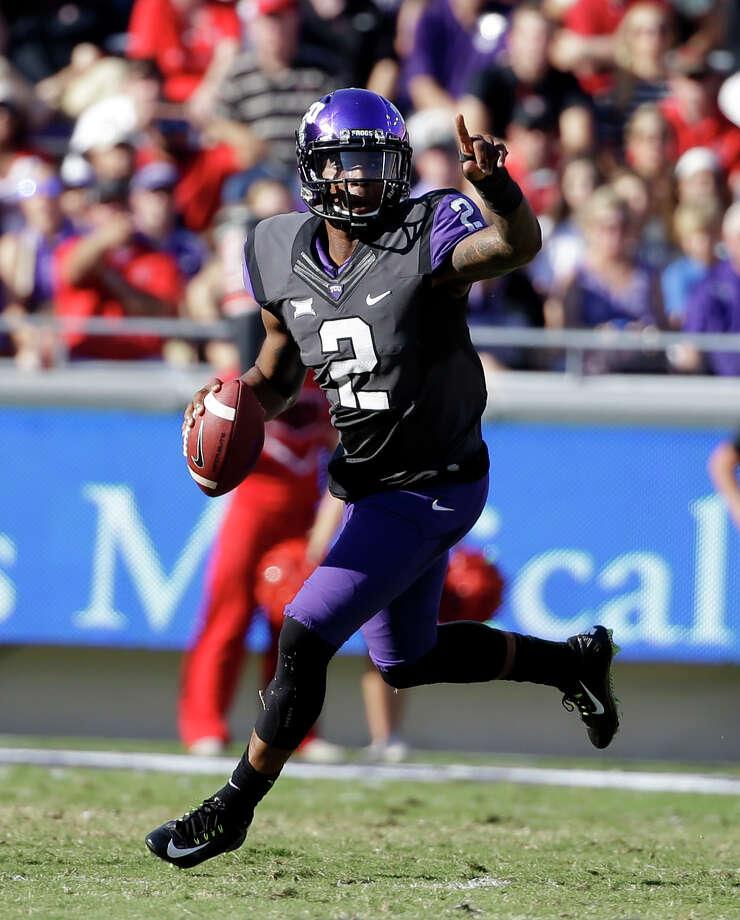 TCU quarterback Trevone Boykin has come out of nowhere to warrant Heisman Trophy consideration. Photo: Tony Gutierrez, STF / AP