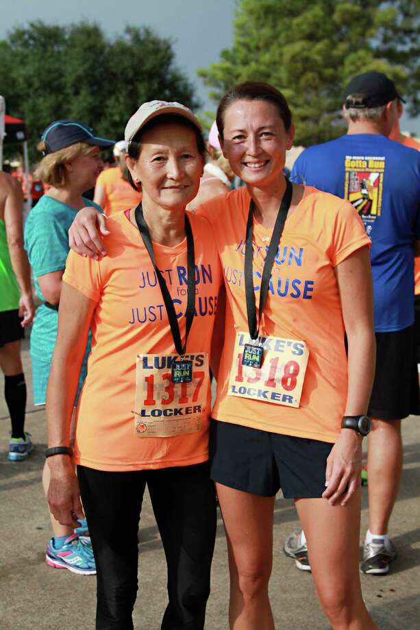 Cathy Harris, Charlotte's mother, is an avid runner just like her daughter.  Cathy Harris, Charlotte's mother, is an avid runner just like her daughter. Photo: N. Cole Photography