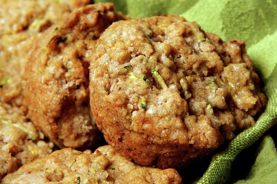 Zucchini muffins are tasty treats served hot or cold. Photo: Melissa Phillip, Staff / © 2014  Houston Chronicle