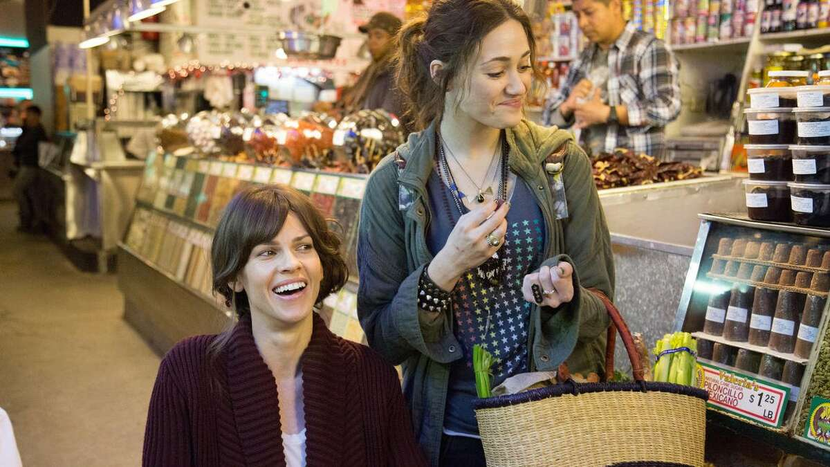 Hillary Swank and Emmy Rossum star in