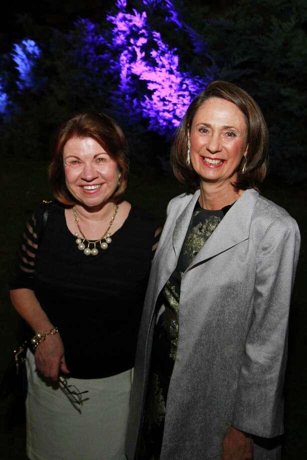 Anne Olson, left, and Sis Johnson Photo: Gary Fountain, Freelance / Copyright 2014 by Gary Fountain