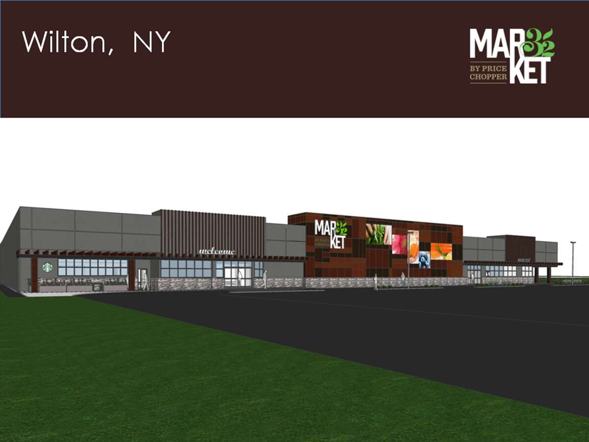 Rendering of the Wilton Market 32, which is under construction.