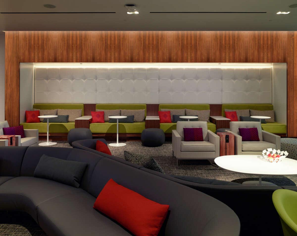 The Centurion Lounge at San Francisco International Airport.
