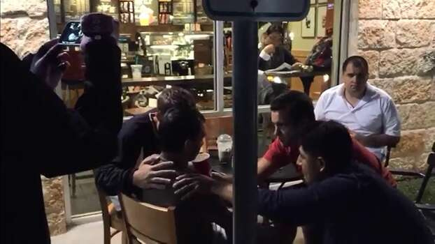 "Why perform an exorcism in your home or a holy place when you can perform it in front of a Starbucks in Austin?  That's the strange reality Reddit user Umgar was confronted with when he stumbled upon a group of men performing an ""exorcism"" on a seemingly entranced male spewing saliva — all in front of the Starbucks located at 6301 W. Parmer Lane. Photo: Fechter, Joshua I, Vidme"