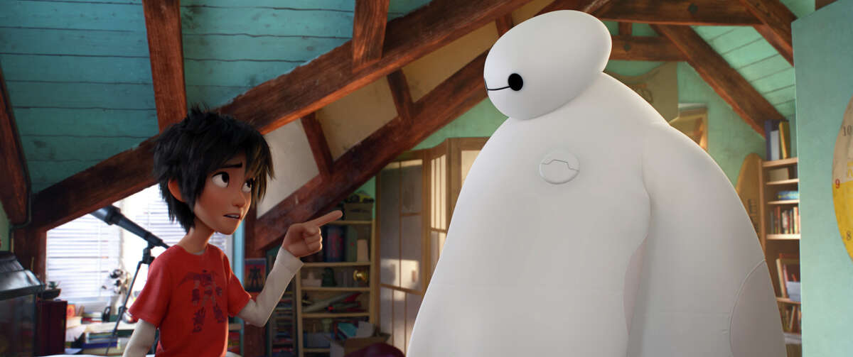Paul Briggs drew on his personal history for an early scene between Hiro and Baymax