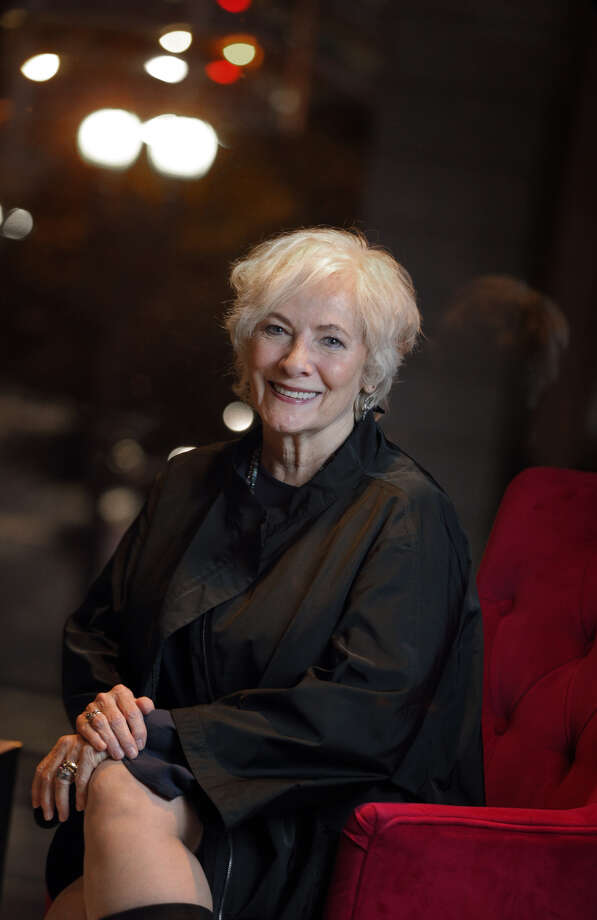 "Betty Buckley, at the Hotel Nikko in S.F., above, and in ""Cats"" on Broadway, left, is on tour singing musical theater standards and songs from her new album, ""Ghost Light,"" which was produced by Americana master T Bone Burnett.Betty Buckley, shown at the Hotel Nikko in S.F, is on tour singing musical theater standards and songs from her new album, ""Ghost Light,"" which was produced by Americana master T Bone Burnett. Photo: Carlos Avila Gonzalez / The Chronicle / ONLINE_YES"