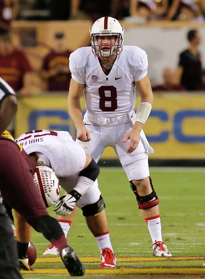 Stanford quarterback Kevin Hogan will employ a more up-tempo approach of offense after relying on ground game. Photo: Rick Scuteri / Associated Press / FR157181 AP
