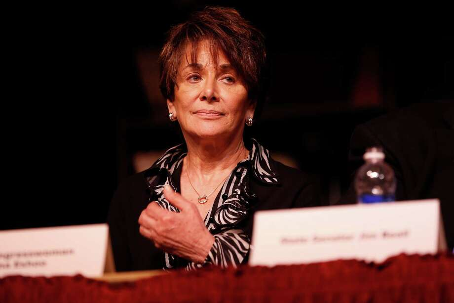 Rep. Anna Eshoo, D-Palo Alto, in 2013. Photo: Stephen Lam / Stephen Lam / Special To The Chronicle / ONLINE_YES