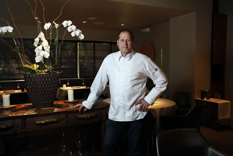 David Kinch, the chef and owner of Manresa in Los Gatos, Calif., on Wednesday, May 7, 2014. Photo: Sarah Rice, Special To The Chronicle