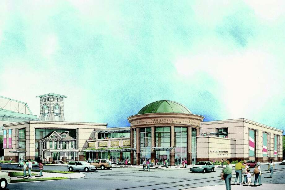 """The Nau Center for Texas Cultural Heritage, a new """"gateway to the region,"""" will include a museum about Houston's history and a visitors' center at 1801 Capitol. Photo: Ray Bailey Architects"""