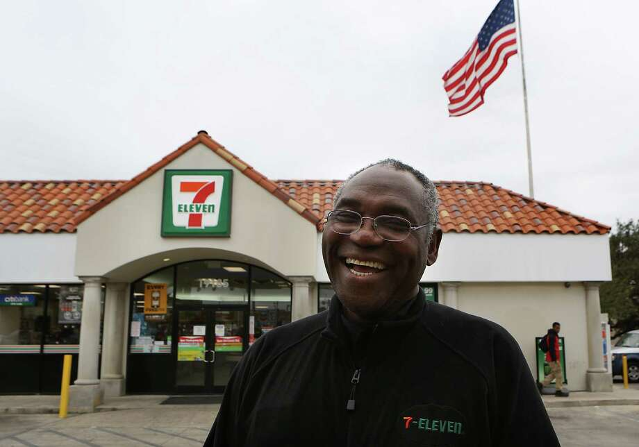 Tony Alabi, franchise owner of the 7-Eleven store in Stone Oak, is a Nigerian immigrant who came to San Antonio in 1969 to study medicine.  Tuesday, Nov. 11, 2014. Photo: BOB OWEN, Staff / San Antonio Express-News / © 2014 San Antonio Express-News