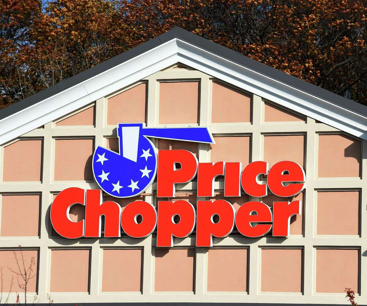 The logo used by the Price Chopper Company Tuesday morning Nov. 11, 2014 at the store in Loudonville N.Y. (Skip Dickstein/Times Union)