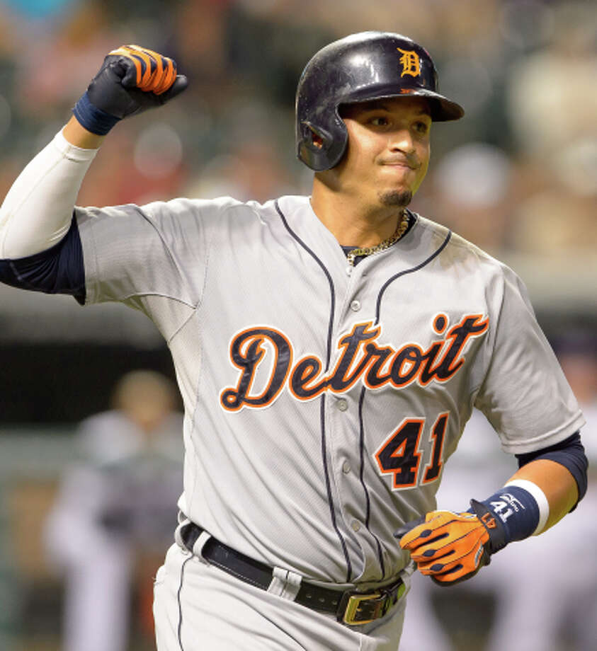 The Tigers' Victor Martinez hit .335 with 32 homers and 103 RBIs last season. Photo: Jason Miller / Getty Images / 2014 Getty Images