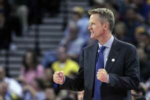 Steve Kerr's first year as the Warriors' coach has gone much better than many oddsmakers thought it would.