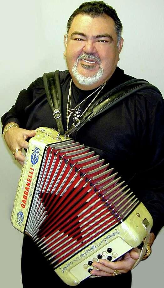 Conjunto accordionist and hitmaker Nick Villarreal Photo: Hispanic Entertainment Archives
