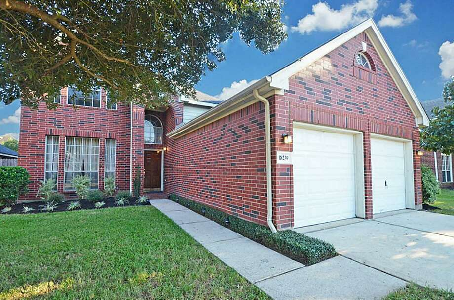House in Katy4 Bedrooms/ 2 Full & 1 Half Bath(s) / 2,628 square feetSale Price: $200,000 Approximate total monthly payment: $1,477.0018239 Flint Hill Drive Katy, Texas 77449  Photo: Houston Association Of Realtors