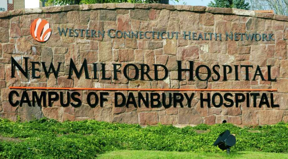 "The Western Connecticut Health Network has made readily apparent its tightening grip on the fortunes of New Miflord Hospital by now referring to the Greater New Milford area's community hospital as ""New Miklford Hospital - campus of Danbury Hospital."" October 2014 Photo: Norm Cummings / The News-Times"