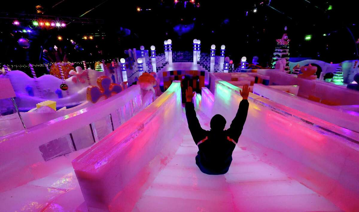 Ice Land and Festival of Lights at Moody GardensOne Hope Boulevard, Galveston Nov. 16-Jan. 12, 2020 Moody Garden's holiday exhibit features iconic world landmarks made completely out of ice. A festival of lights, ice rink, arctic slide, holiday 3D films and more will also be on tap all season long.
