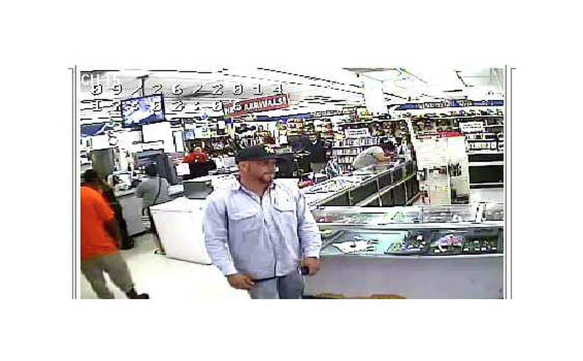 Police are searching for a man who stole a diamond ring from a San Antonio pawn shop in September.