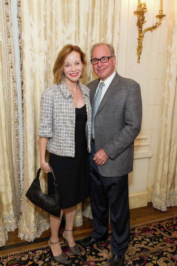 Janice Zakin and Jonathan Zakin at a reception for Festival Del Sole hosted by Ann and Gordon Getty on November 4, 2014. Photo: Drew Altizer Photography / Drew Altizer Photography