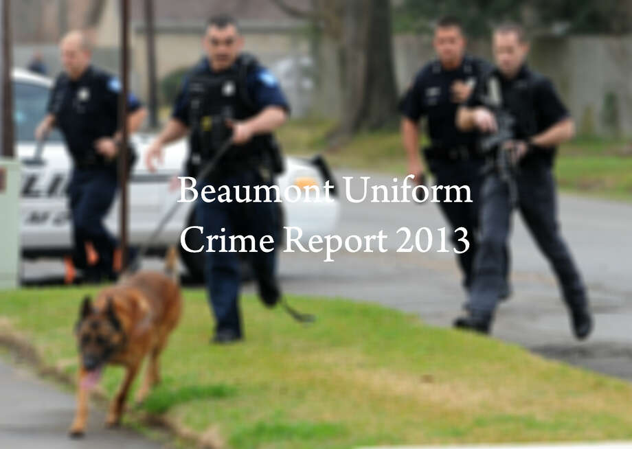 The FBI has released its annual Uniform Crime Report covering the year 2013. Click through to see offenses reported in Beaumont and check how those numbers compared to 2012.